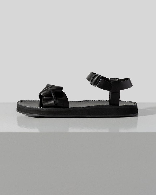 Pauma Interwoven Front-Strap Sandal