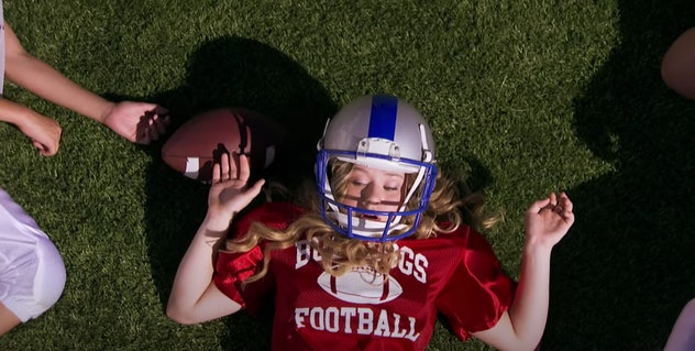 'Bella and the Bulldogs' is a series about a young girl who plays football.