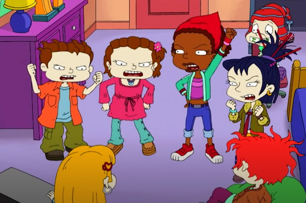 'All Grown Up' is a spinoff of 'Rugrats.'