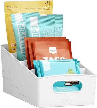 YouCopia 4-Tier Food Packet and Snack Shelf Bin
