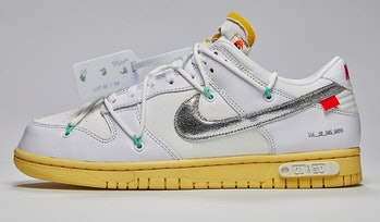 """Nike x Off-White """"The 50"""" Dunk Low 1/50"""