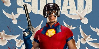 John Cena plays Peacemaker in The Suicide Squad