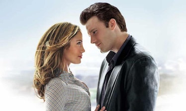 J.Lo and Ben Affleck in Gigli's official poster
