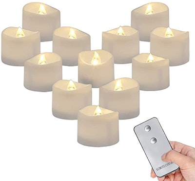 Homemory Remote Control Tea Lights
