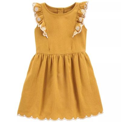 Carter's Ruffled Sleeveless Dress