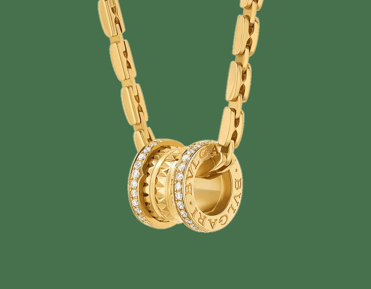 Bvlgari B.zero1 necklace.