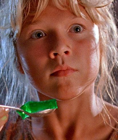 closeup of Ariana Richards from Jurassic Park