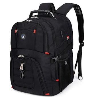 Shrradoo Extra-Large 50-Liter Travel Laptop Backpack
