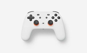 Google Stadia controller for cloud gaming