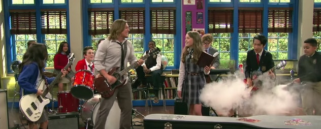 'School of Rock' is based on the movie with the same name.