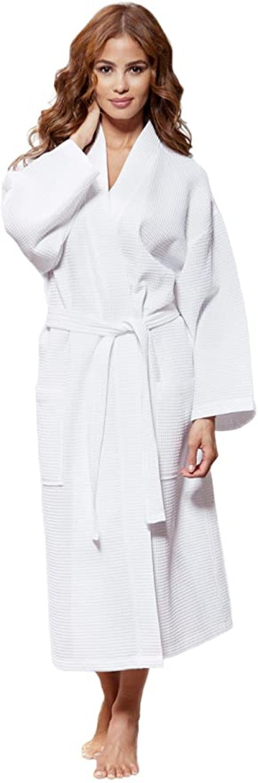 Turquaz Linen Lightweight Spa Robe