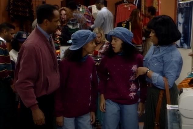 Tia and Tamera Mowry star in 'Sister, Sister.'