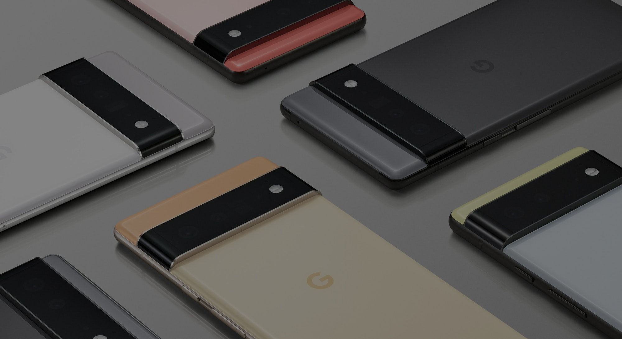 First images of Google's Pixel 6 and Pixel 6 Pro
