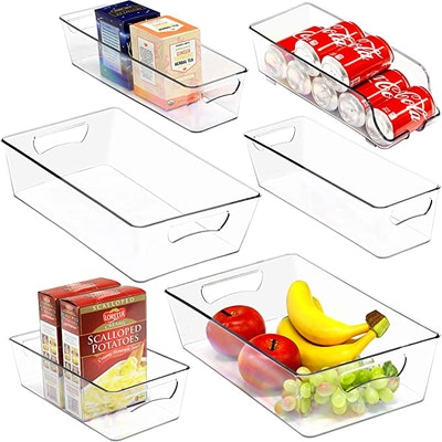 Simple Houseware Freezer Storage Organizer (6-Pack)