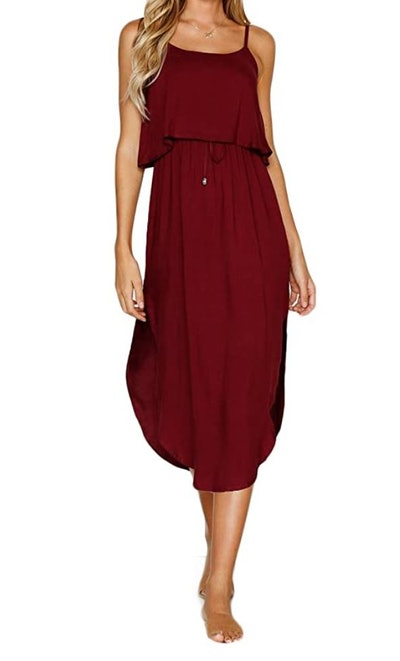 NERLEROLIAN Casual Midi Dress