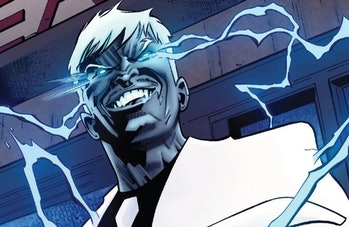 Mister Negative unleashing his powers in Amazing Spider-Man Vol. 5 #59