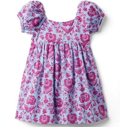 Disney Alice In Wonderland Puff Sleeve Dress