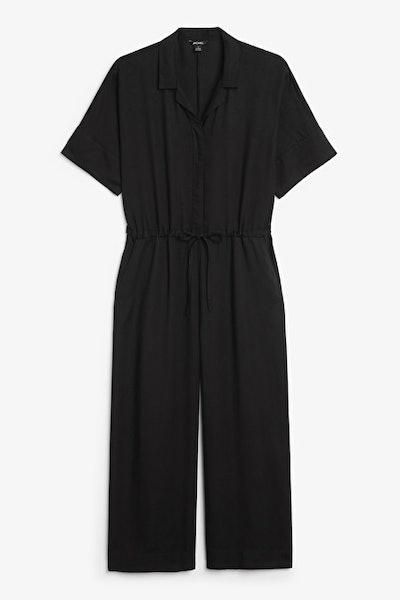 Short-sleeved jumpsuit