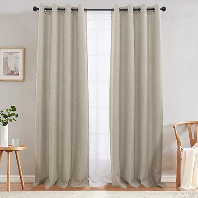jinchan Darkening Curtains