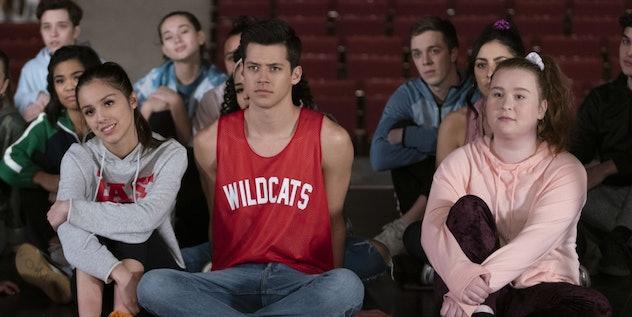 Olivia Rodrigo stars in High School Musical the Musical: The Series.