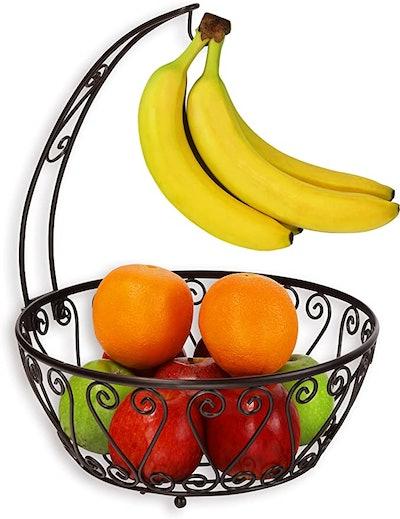 SimpleHouseware Fruit Basket Bowl