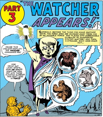 Marvel Comics The Watcher What If interview
