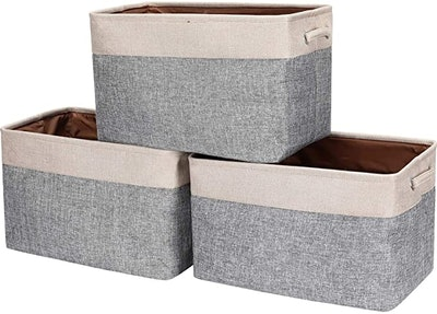 HOKEMP Foldable Storage Bins [3-Pack]