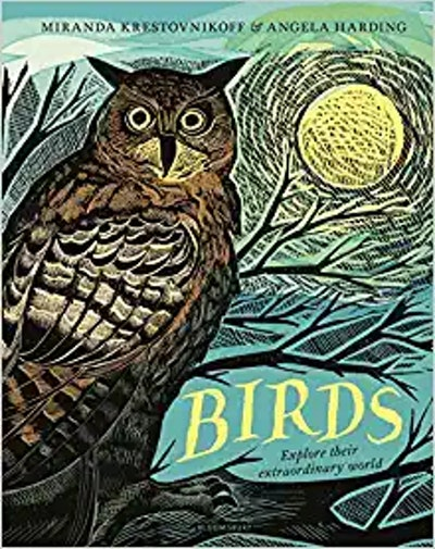 'Birds: Explore Their Extraordinary World' by Miranda Krestovnikoff & Angela Harding