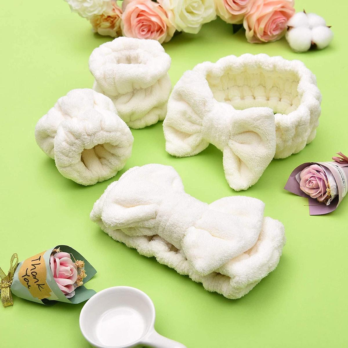 Chuangdi Spa Washband Set (4 Pieces)