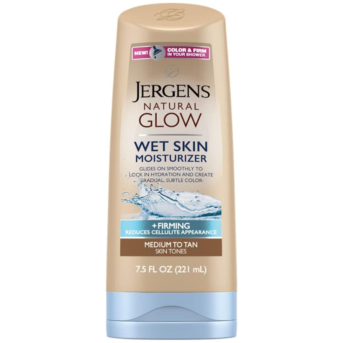 Jergens Natural Glow + Firming Wet Skin Moisturizer