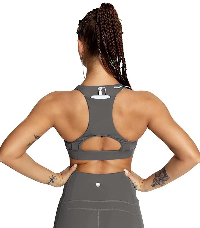 QUEENIEKE Back Pocket Sport Bra