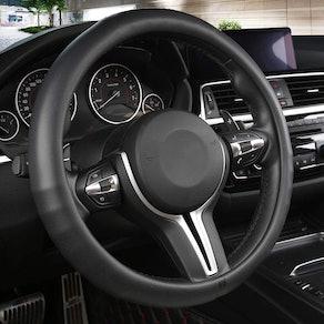 Black Panther Car Steering Wheel Cover