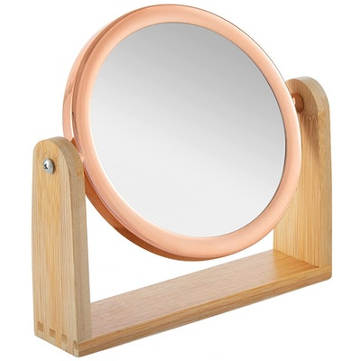 YEAKE Double Sided 10X Magnifying Makeup Mirror
