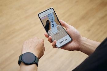 Samsung Galaxy Z Flip 3 foldable smartphone