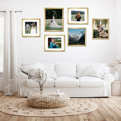 upsimples Picture Frame Display (Set of 5)