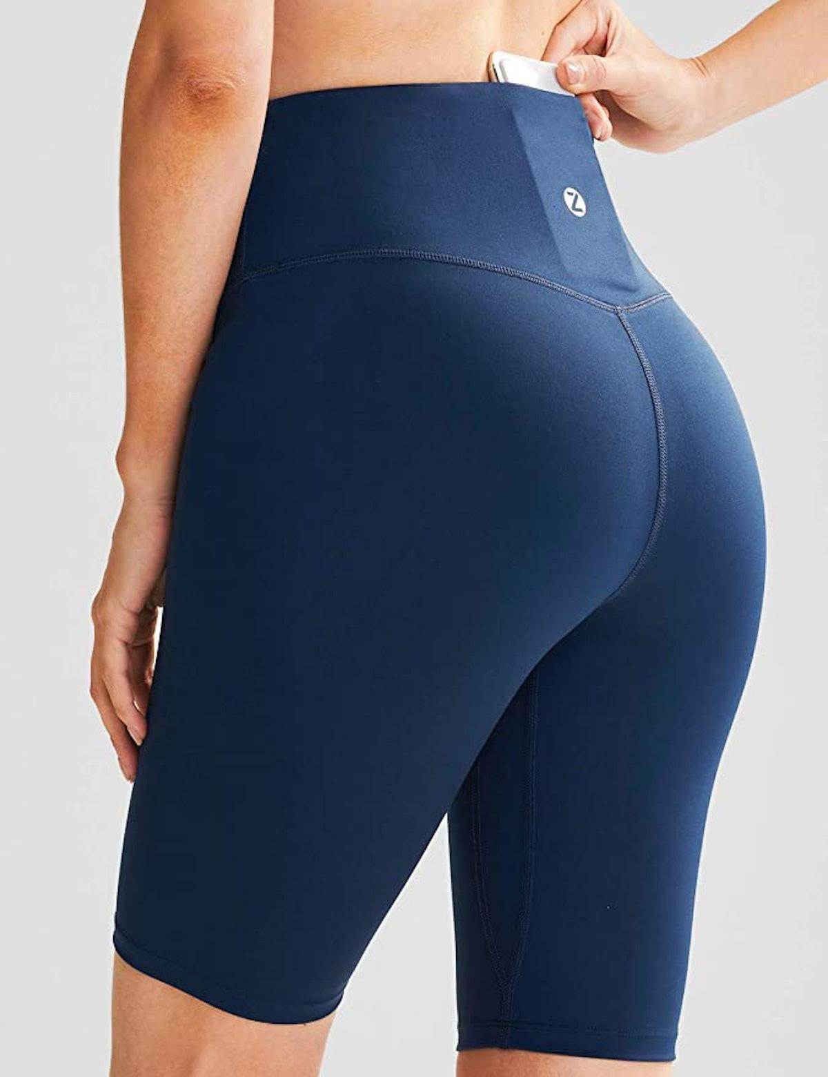 ZUTY Biker Shorts with 2 Hidden Pockets