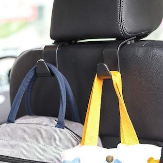 Amooca Car Seat Headrest Hook (4-Pack)