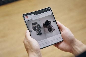 Samsung Galaxy Fold 3 foldable phone
