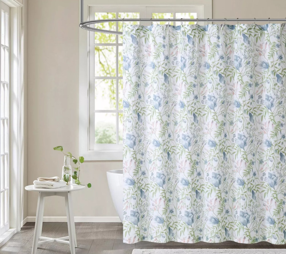 Field Floral Shower Curtain - Cottage Classics