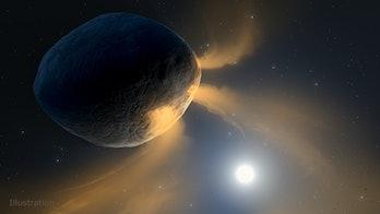 active asteroid phaeton