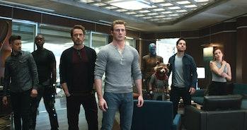The surviving Avengers assembled in Avengers: Endgame