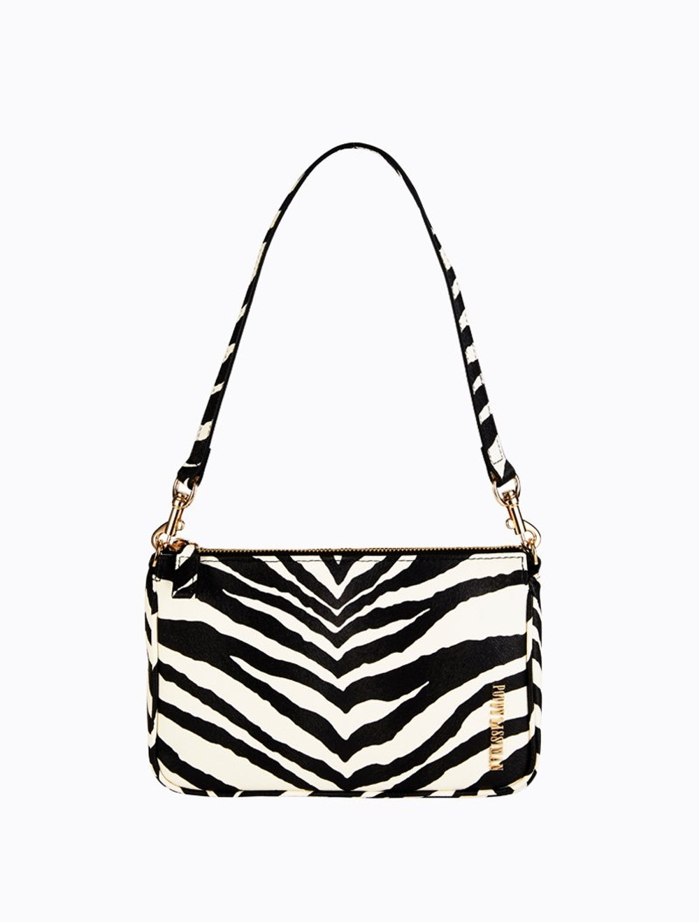 Poison Pouchette Bag in Zebra