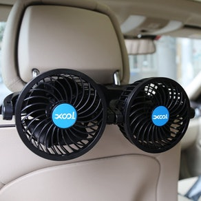 XOOL Electric Car Fans for Rear Seat
