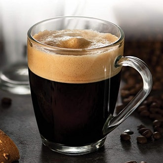 Bormioli Rocco Glass Coffee Mug Set (6 Pack)