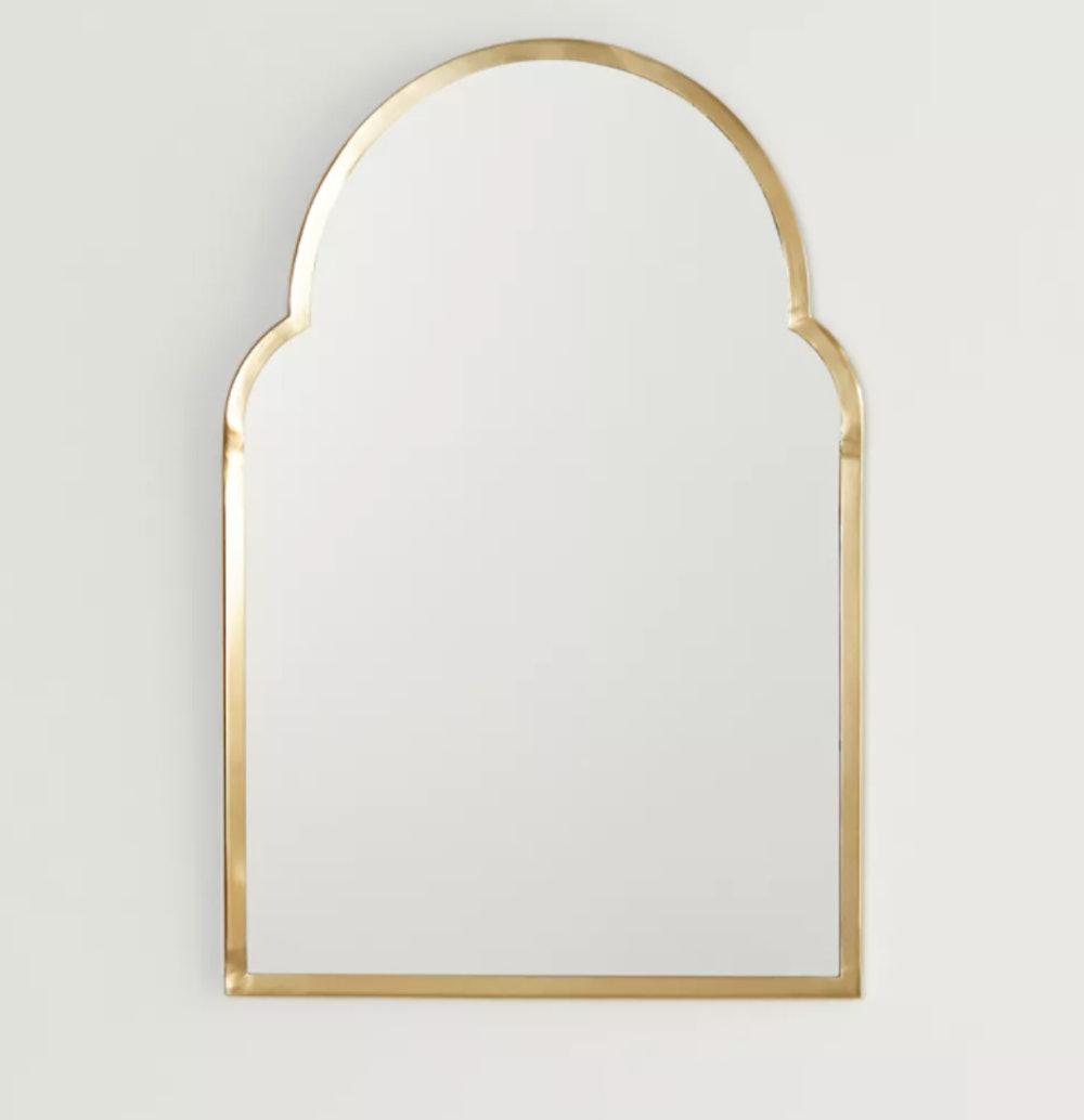 Varena Arched Wall Mirror
