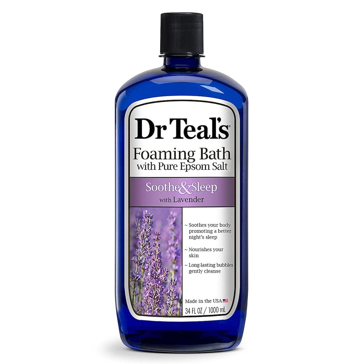 Dr Teal's Foaming Bath with Pure Epsom Salt Soothe & Sleep