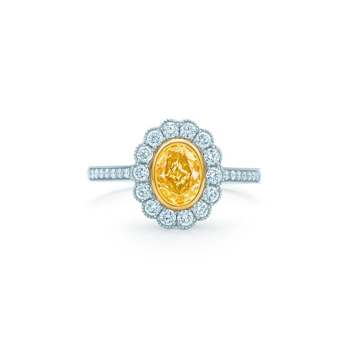 Tiffany & Co. Yellow Diamond Earrings