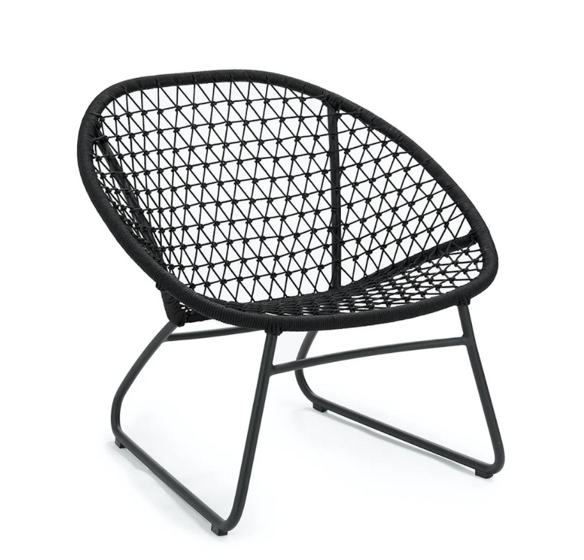Bene Graphite Black Lounge Chair