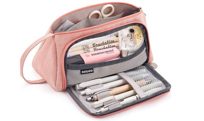 EASTHILL Large Capacity Pencil Case