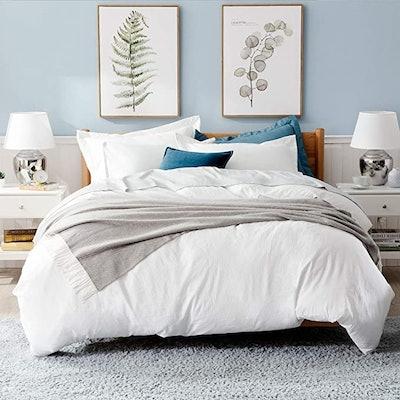 Bedsure White Duvet Covers